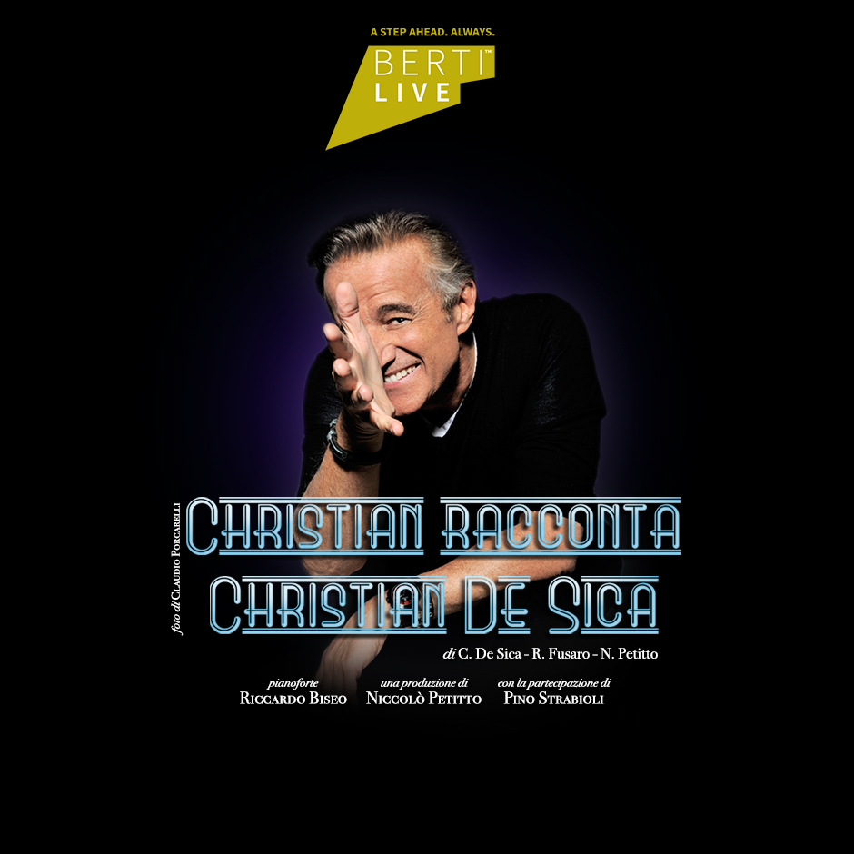 christian de sica berti live
